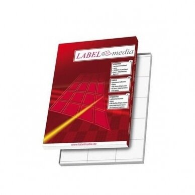 A4 lape 40 lipnių etikečių