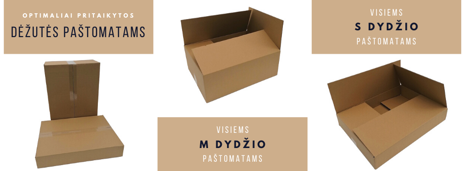 Dėžutės paštomatams